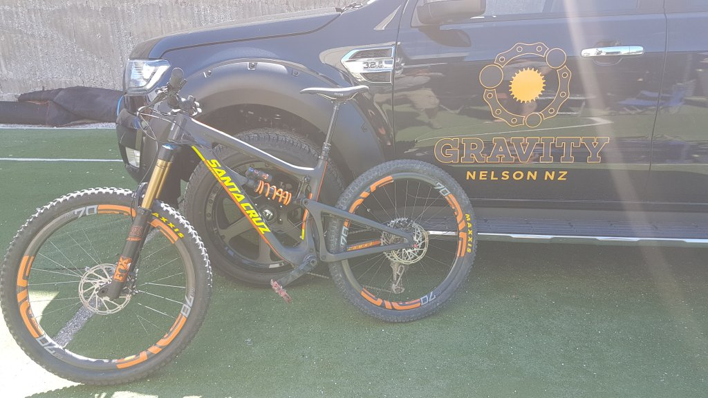 Perfect trail bike for Nelson