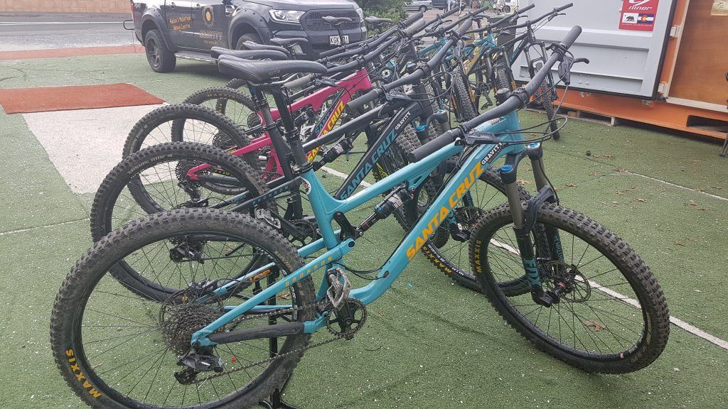 Rental mountain bikes for sale