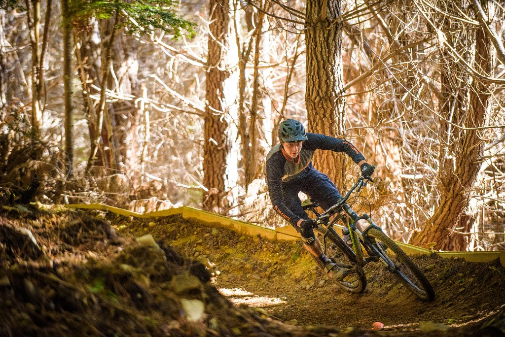 downhill mountain biking in Nelson