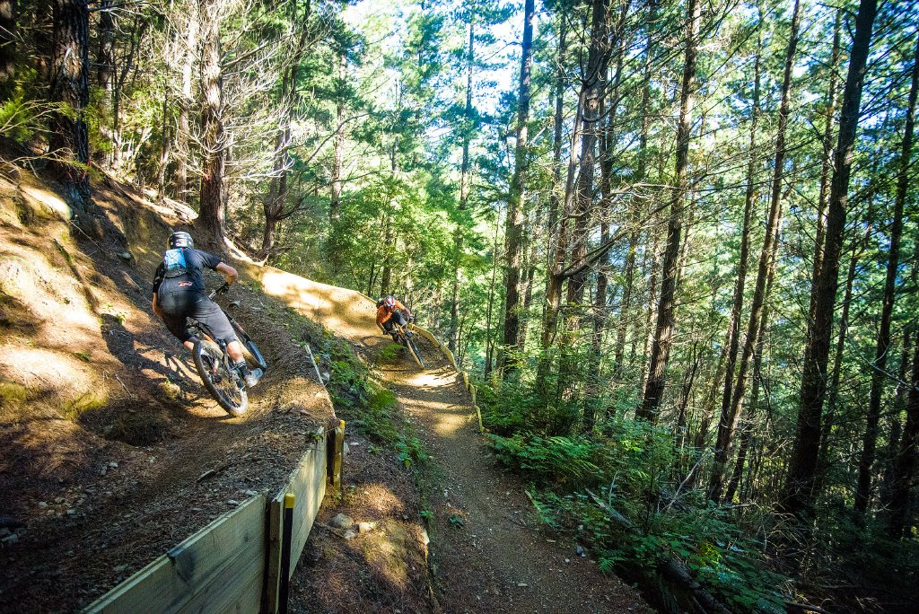 There are trails for intermediate, advanced and super advanced riders