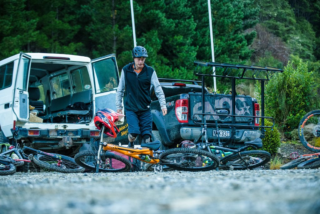 mountain bike shuttles and transfers Nelson