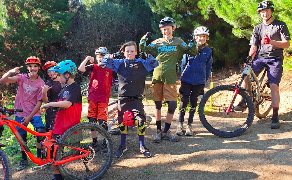 Kids Mountain Bike Coaching School Holidays Program