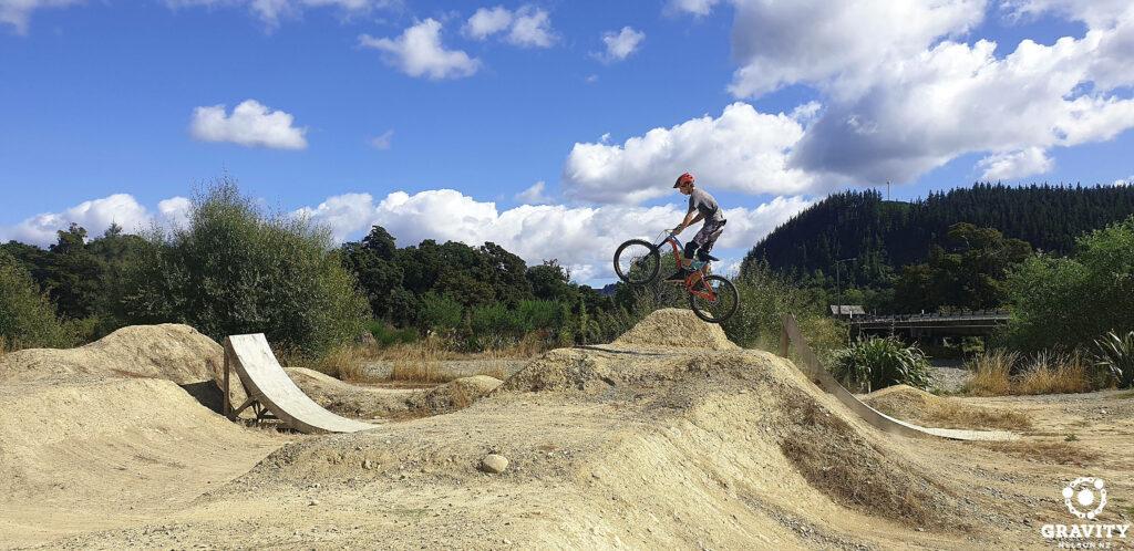mountain bike jump coaching