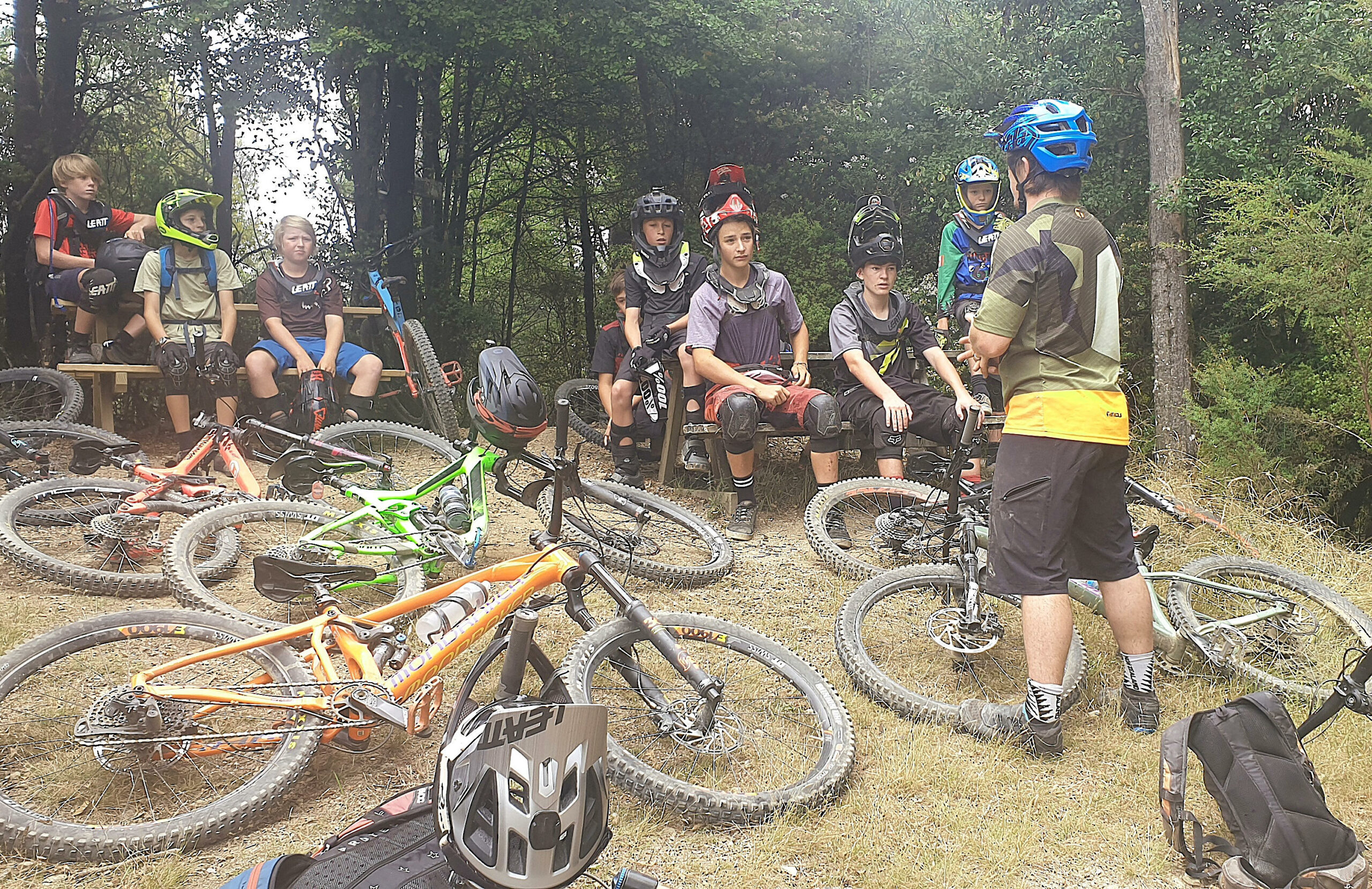 mountain biking coaches