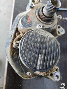 Dirty Shimano EP8000 motor